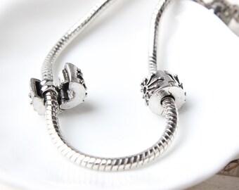 10pcs Sun Lock Clip Stopper beads, European Beads, Bead Charms, fits most European charm bracelets bead charm bracelet