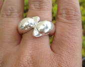 Two Dolphin Ring , Animal Jewelry  , Everyday Jewelry , Nautical Ring , Sea Ring , Solid Sterling Silver 925 , Big Dolphins