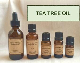 Essential Oil: Tea Tree Oil (Organic)