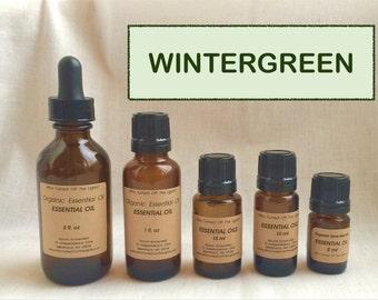 Essential Oil: Wintergreen (Organic)
