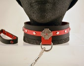 BDSM Fetish Collar with Celtic Cross