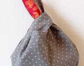 Mini Japanese Knot Bag / Purse / Wristlet - Lolita