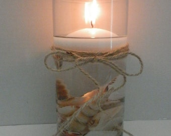 Wedding centerpiece, Beach wedding centerpiece, Wedding decoration, Candle holder , Floating candle centerpiece