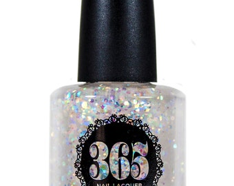 Iridescent Glitter Nail Polish - Sirenia