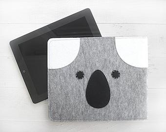 CADEAU de Noël, envoi EXPRESS, iPad Case, Koala, pochette, iPad iPad Cover, Tablet Case, housse de tablette, cadeau pour elle, pour lui, la technologie