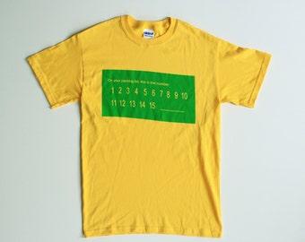 McMaster Shirt - Yellow