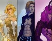Digital Sketch Commission - Character, portrait, illustration, self portrait, pet portrait, custom