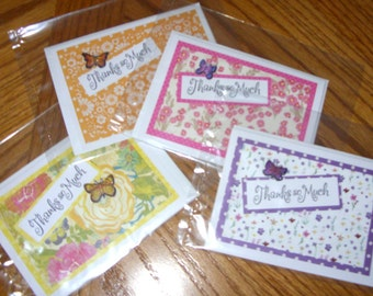 Assorted Thank You Note Cards