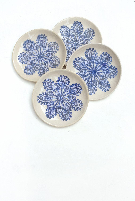 keramik geschirr set keramik teller keramik schalen 4er. Black Bedroom Furniture Sets. Home Design Ideas