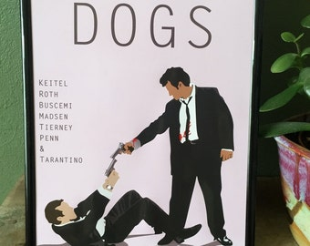 Reservoir Dogs movie poster - A4 print