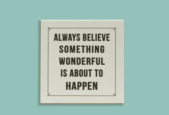 12 X 12 Cream And Black Inspirational Wall Sign By