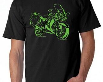 Men's Kawasaki Concours C14 ZG1400 T-Shirt 1400GTR