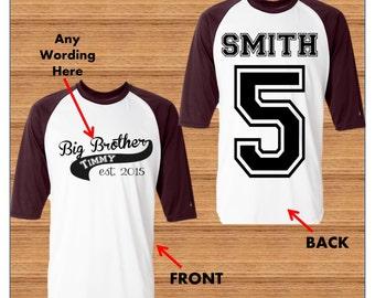 Big Brother Shirt - Promoted to Big Brother Shirt - Big Brother announcement Shirt