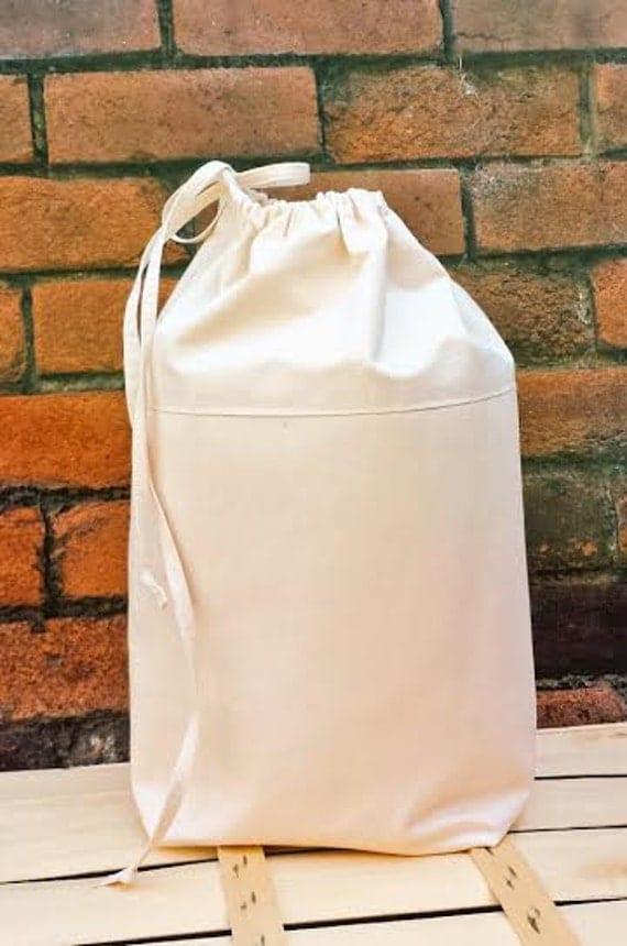 Items Similar To Denim Canvas Laundry Bag Extra Sturdy