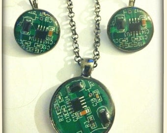 Recycled E-Waste Necklace