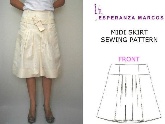 midi pleated skirt sizes 6 8 10 12 s pdf