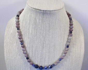 Lilac Quartz Necklace