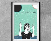 Melancholia Alternative Movie Poster - Original Illustration