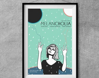 Melancholia Alternative Movie Poster - Original Illustration