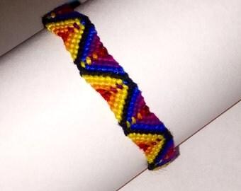 Friendship Bracelet. Handwoven