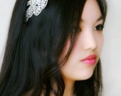 Flapper Inspired Large Rhinestone Hairband