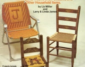 "Macrame ""The Second Furniture Fan-Fare"" Pattern Book Liz Miller and Larry & Linda James PLAID ENTERPRISES 7629"