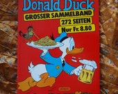 Donald Duck Walt Disney German Band 3 Nr 66 71 50 51 Grosser Sammelband 1980s Color 276 Pages Four Comics in 1 Die schonste Geografiestunde