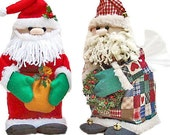 The Original Sneezes Santa Claus Sewing Pattern Tissue Box Cover
