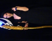 Loki Scepter - Light Up - Full Scale (5 1/2 Feet Tall) - Made to Order