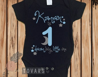 First birthday Bodysuit Blue and Gray First Birthday First Birthday Shirt Boys Birthday Shirt Boys Birthday Outfit First Birthday Outfit