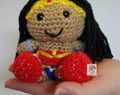Pocket Amigurumi Wonder Woman
