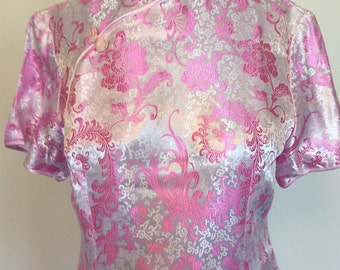 Pink Chinese Dress - Large