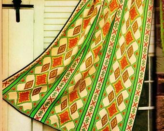 Crochet Afghan Vintage Crochet Pattern Download