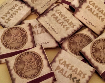 Vintage Caesar's Palace Matchbooks