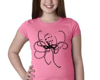 Girls Steampunk Octopus Shirt 3710