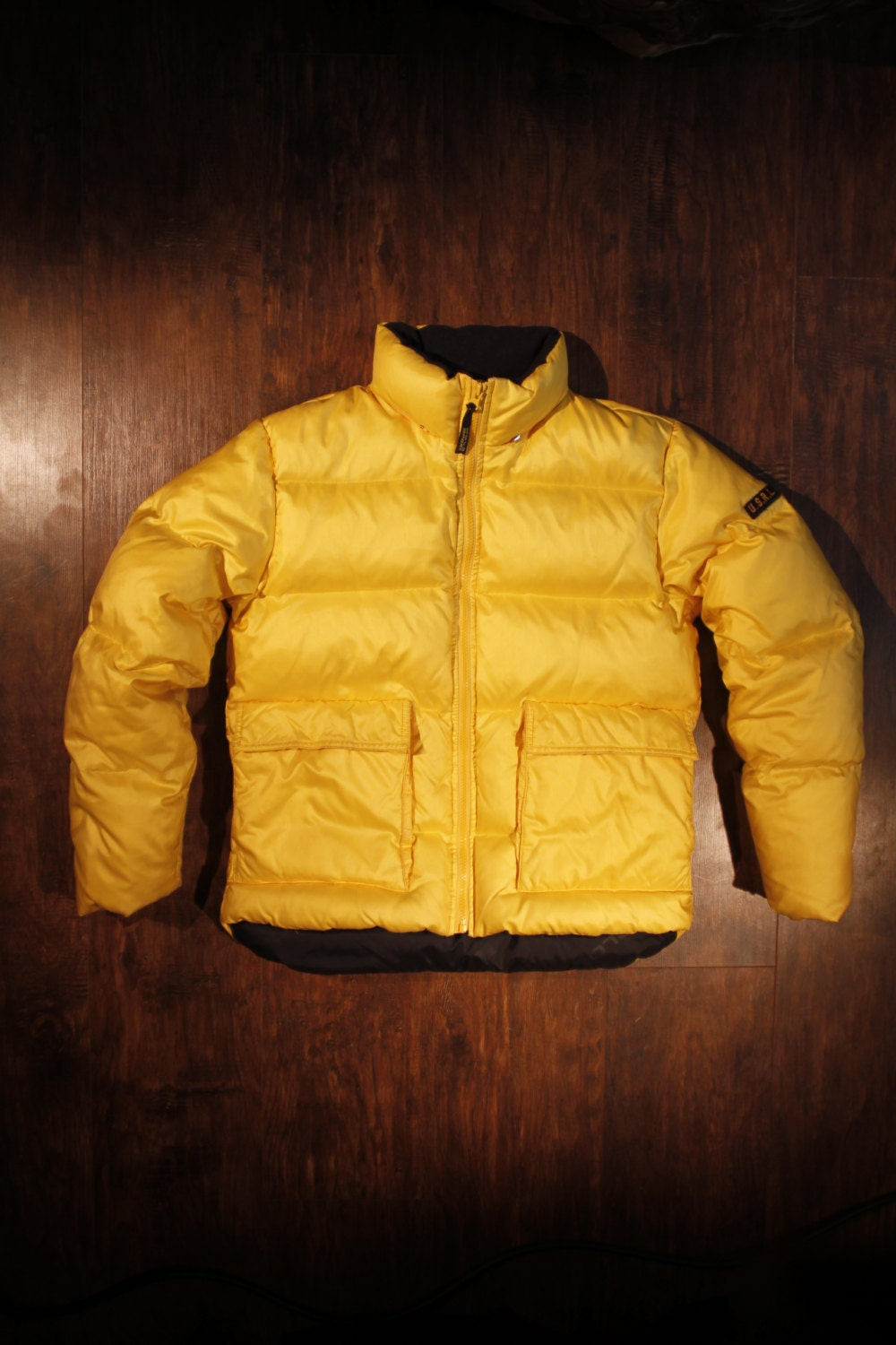 Vintage 90s Polo Sport Jacket Puffer Down Nylon Unisex Adult