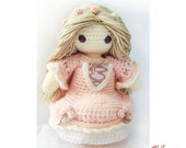 Crochet Pattern - Amigurumi Doll - The Darling Collection #1 - Rose Maiden May - PDF Pattern