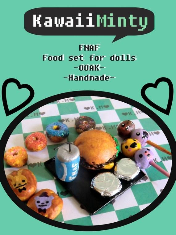 Fnaf Huge Food Set Monster High Blythe