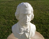 1960's Chopin bust, music composer