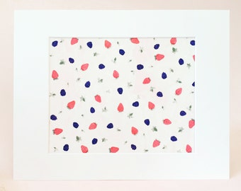 Berry Sweet Berries Art Print