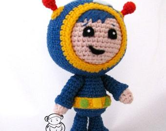 Free Crochet Pattern Umizoomi : Milli Umizoomi crochet amigurumi pattern by BearGaMak on Etsy