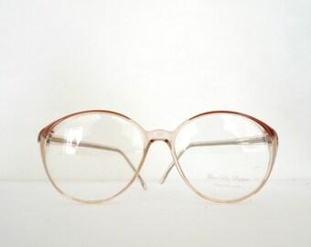 80s Round Bubble Glasses New Unused Vintage NOS Mod Clear Eyeglasses Sunglasses Frame Mod Disco Cat Eye Granny SAle