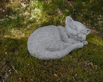 Cat angel statue Etsy