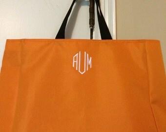 Monogrammed Essential Tote Bag