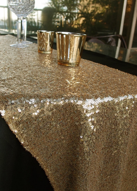 sequin table runner. Black Bedroom Furniture Sets. Home Design Ideas