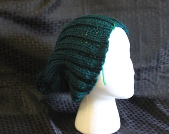 Hunter Green Slouch Hat