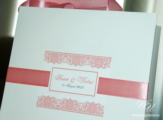 Personalised Wedding Gift Ribbon : ... White and Blush - Personalized Gift Paper Bags - Weddings Gifts Favors