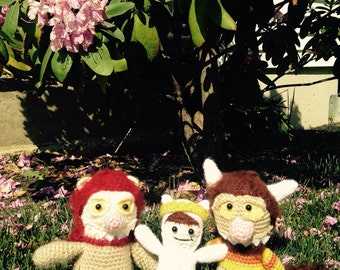Where the Wild Things Are Inspired Amigurumi/Toys