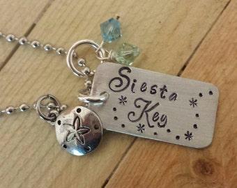 Siesta Key Beach necklace