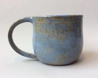 Light Blue Stoneware Mug